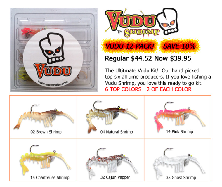 Egret Baits - Vudu Shrimp Kit